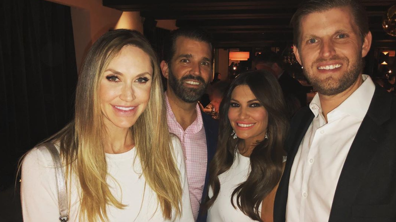 Illustration for article titled Kimberly Guilfoyle Spent Her Birthday With a Former Pussycat Doll, Possibly Inside a Haunted Cave