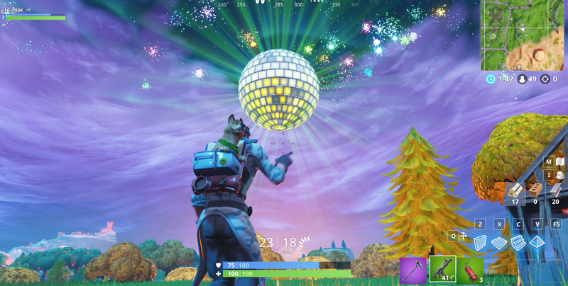 Illustration for article titled Fortnite's New Year's Eve Event Catches Some Players By Surprise