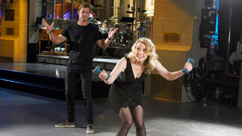 Chris Hemsworth, Kate McKinnon (NBC)