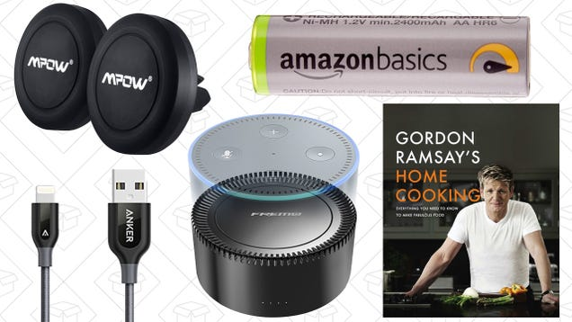 Todays best deals cookbooks charging cables smartphone car a battery pack for your echo dot kindle cookbooks and rechargeable batteries lead off fridays best deals from around the web fandeluxe Choice Image