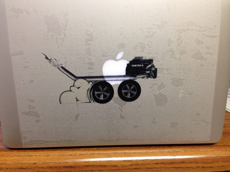 Illustration for article titled MacBook Air HEMI Edition