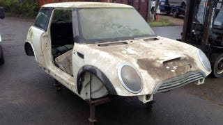 Illustration for article titled Unique BMW Mini Prototype Found On Ebay Proves Rover Origins