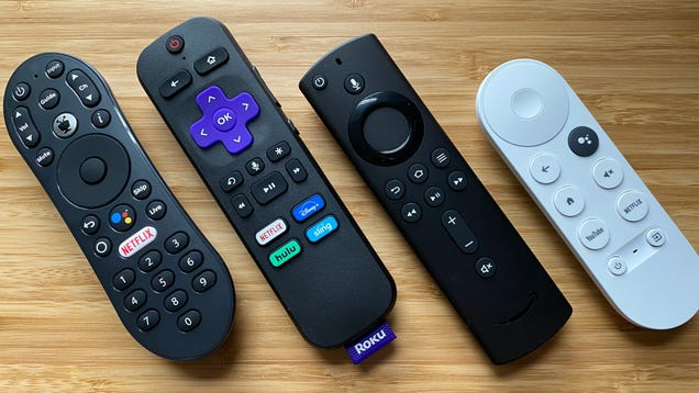 More Streaming Remotes Need to Be Battery-Free