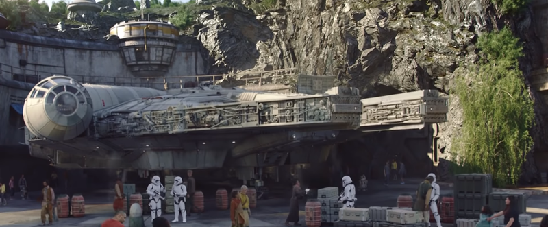 You'll probably get to learn how the Millennium Falcon showed up on Batuu in the new Galaxy's Edge comic.