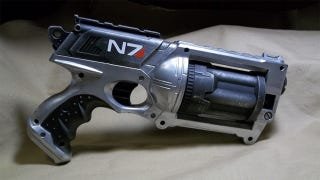 Illustration for article titled No DLC Can Ever 'Nerf' This Awesome Mass Effect Nerf Gun