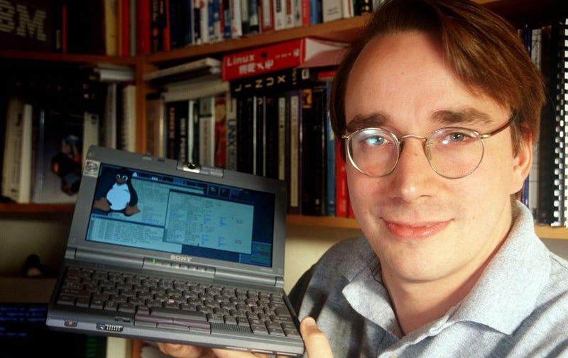 Linus Torvalds en los 90
