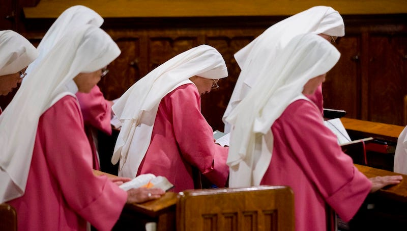 Pink Sisters' Complete 100 Years of Continuous Prayer