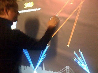 Illustration for article titled Giant Missile Command: The Best Use of Multitouch to Date