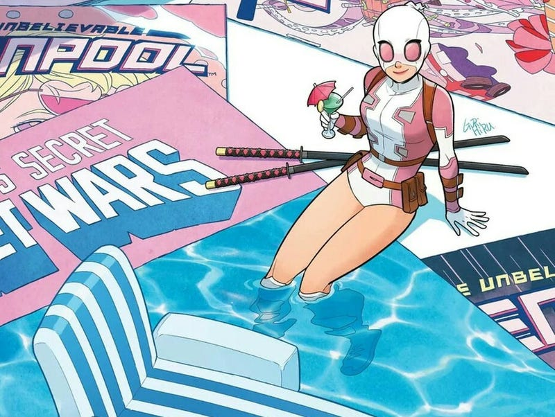 Illustration for article titled The Unbelievable Gwenpool Finale is All About the Incredible Power of Comic Books