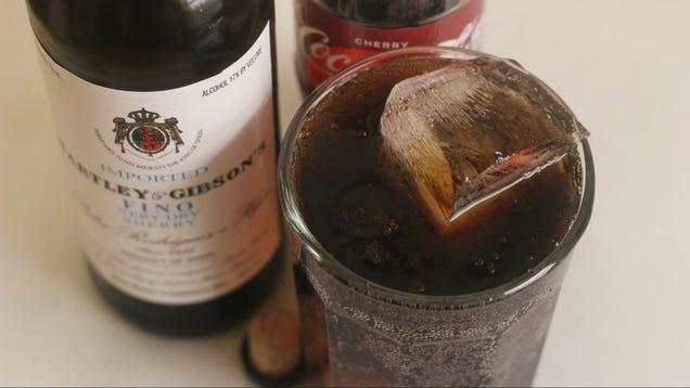 Combine Cherry Coke and Sherry to Make a Scherry Coke