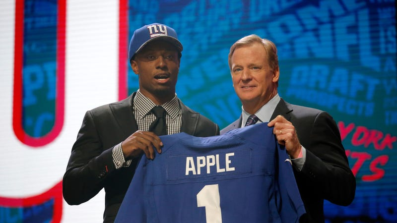 Giants suspend CB Eli Apple for Week 17
