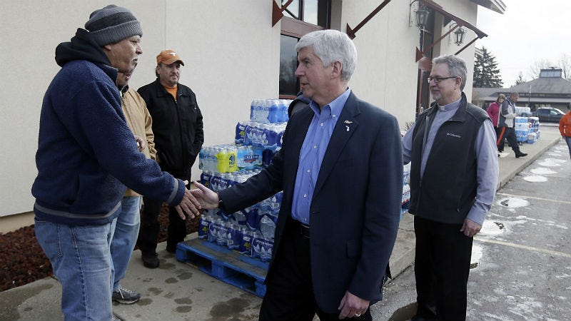 """Gov. Snyder using his life to explain """"too little, too late"""""""