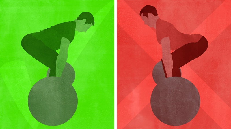 Illustration for article titled The Most Common Deadlift Mistakes and How to Fix Them