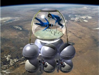 Illustration for article titled A Bubble On The New Wave Of Space Travel