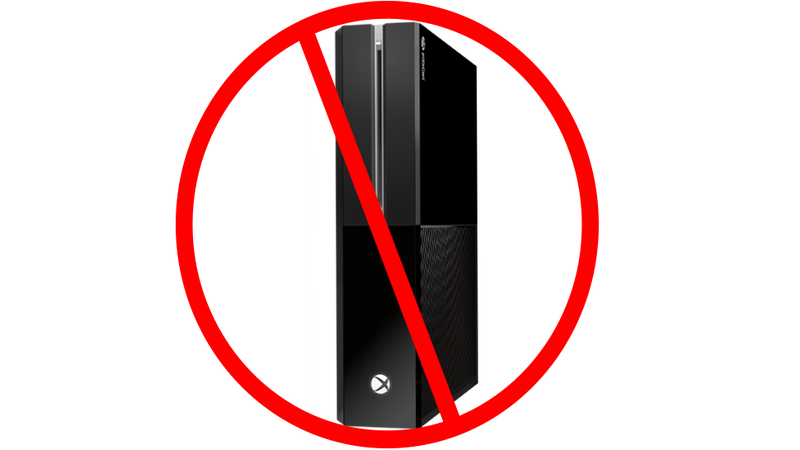 "Illustration for article titled Want Xbox One to Stand Up? Microsoft Says ""Do It at Your Own Risk."""