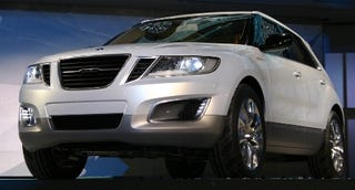 Illustration for article titled Detroit Auto Show: Saab 9-4X BioPower Concept