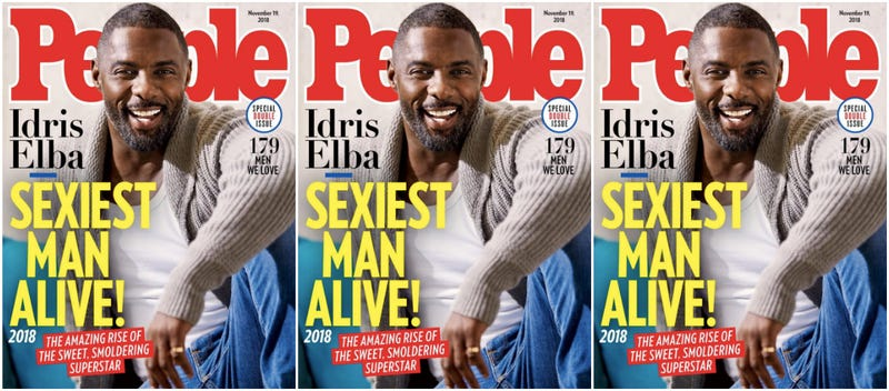 Illustration for article titled Yes, Sir! People Magazine Names Idris Elba Sexiest Man Alive (and Water Is Wet)