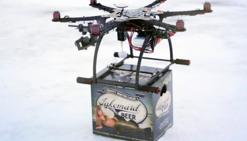 Illustration for article titled Kitchenette: Beer Deliveries By Drone Are No More in Minnesota