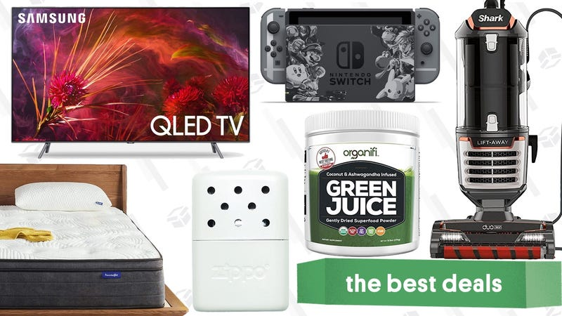 """Illustration for article titled Wednesday's Best Deals: Heated Shirt, 75"""" TV, Zippo Hand Warmers, and More"""