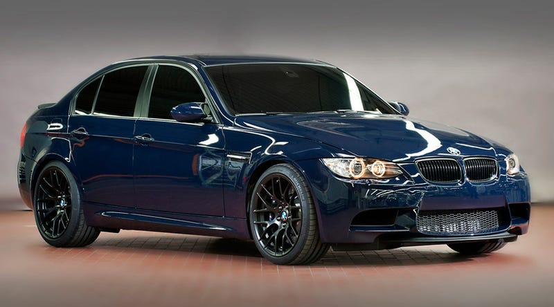 Illustration for article titled BMW M3 GTS Sedan Concept is the penultimate driving machine