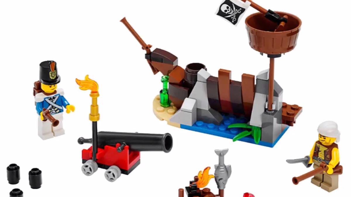 Really Shoots 1x1 Round Lego Bricks ~  Lego  ~ NEW ~ Pirates Cannon