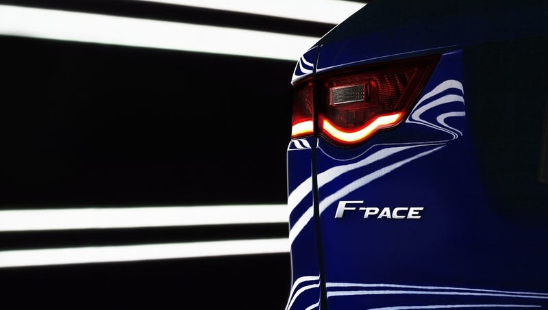 Illustration for article titled Jaguar Crossover To Be Called F-PACE