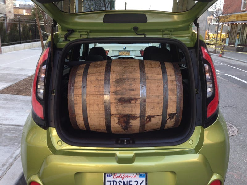 Illustration for article titled Kia Soul: Will It Bourbon?