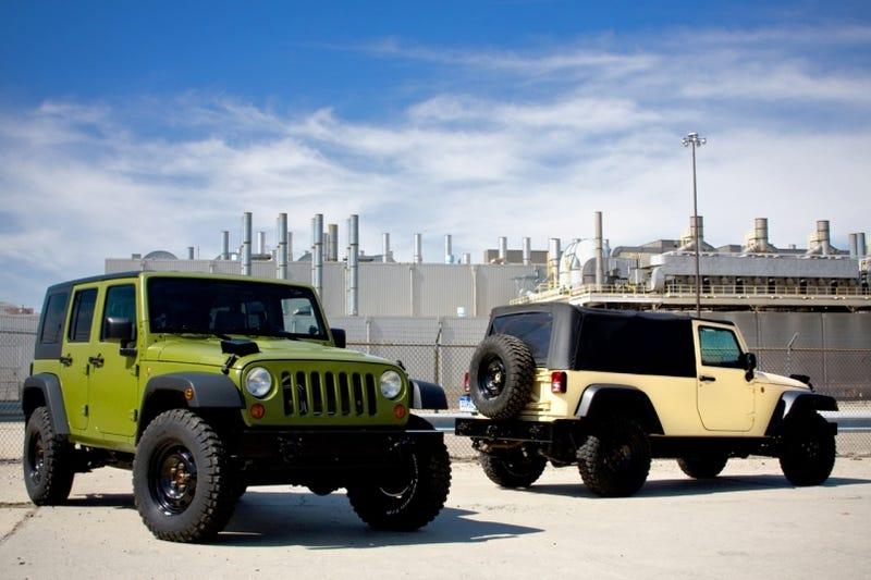 Illustration for article titled AEV J8 MILSPEC: A Jeep J8, Built For Civilians