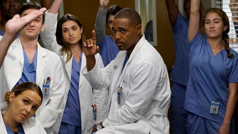"""Who thinks this season of Grey's Anatomy is lame?"" (Photo: ABC)"