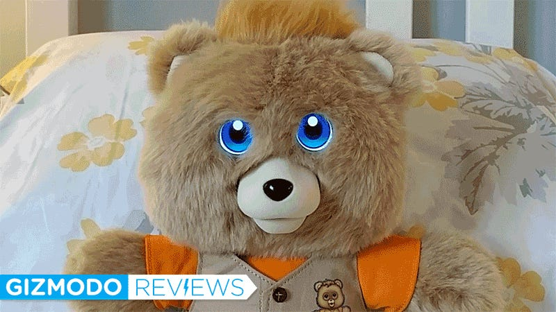 photo image Glowing Eyes Don't Save the New Teddy Ruxpin From Being a Boring Clone of the '80s Hit