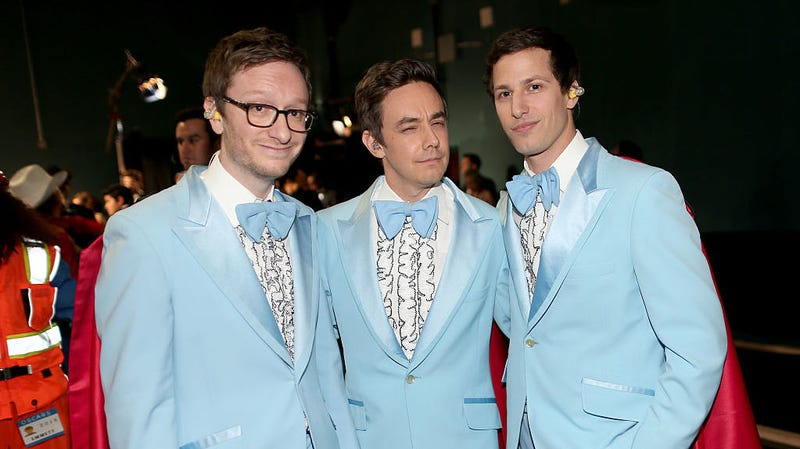 Illustration for article titled Watch The Lonely Island perform a new, ridiculous song