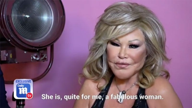 a7crhnlcn7uo6jbxwwqg - Jocelyn Wildenstein's Fiancé: 'She Never Really Did Anything to Change Her Face'