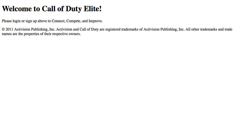 Illustration for article titled Call of Duty's Elite Service Still Broken, But Getting Better