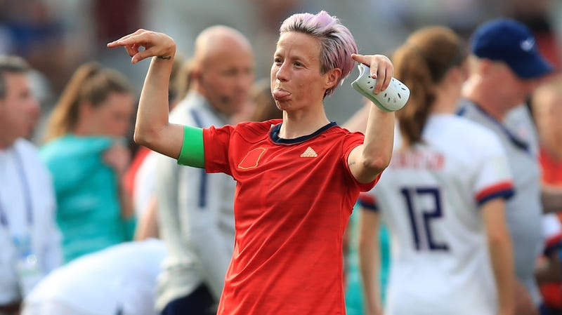 Illustration of the article Megan Rapinoe can not make this clearer