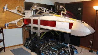 Illustration for article titled X-Wing Bed Gives Boy The Coolest Childhood On Record