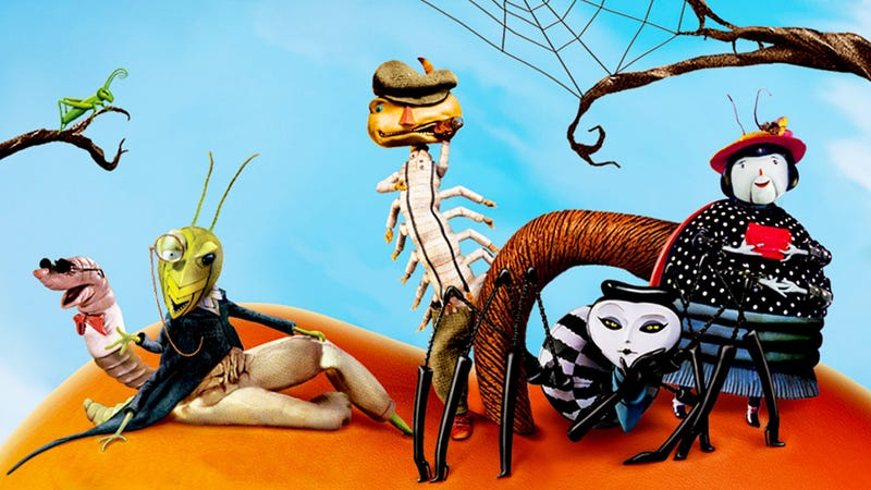 An image from the 1996 animated of James and the Giant Peach. It's now getting a new remake. Image: Disney