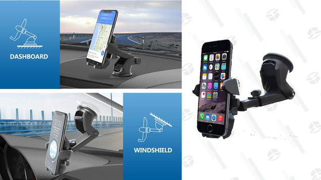 Avoid All Kinds Of Traffic Tickets With A Universal Phone Mount
