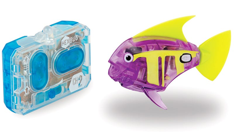 Remote control fish suddenly make an aquarium sound like fun for What sound does a fish make