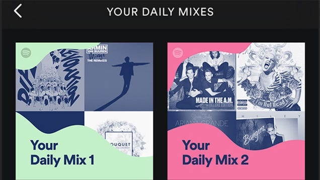 Spotify's Daily Mix Playlists Combine Old Favorites and New Artists Into One Playlist