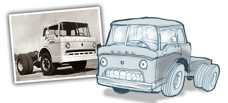 Illustration for article titled What Cars Look Like They're Working Really, Really Hard?