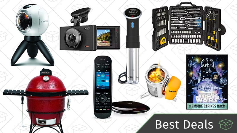 Illustration for article titled Thursday's Best Deals: Dash Cams, Camping Stove, Star Wars Movies, and More