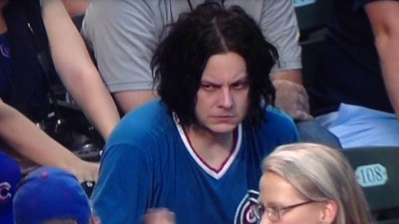 Illustration for article titled Jack White's resting bitchface has inspired the Internet's new favorite meme