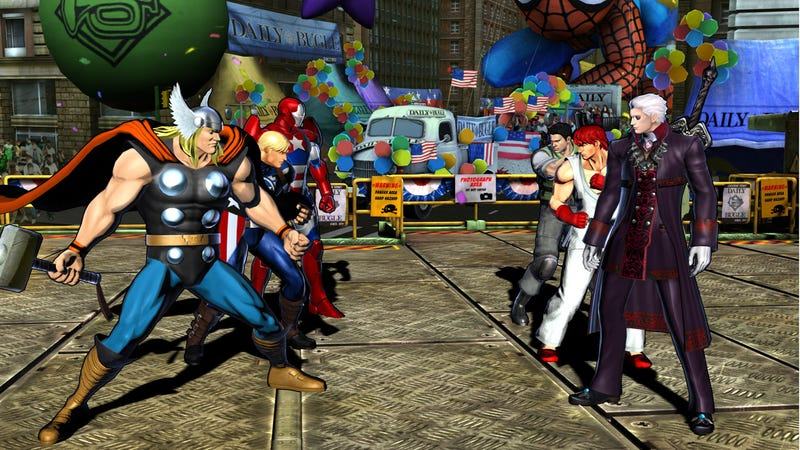 Illustration for article titled Get Ready To Play Dress-Up With Marvel Vs. Capcom 3