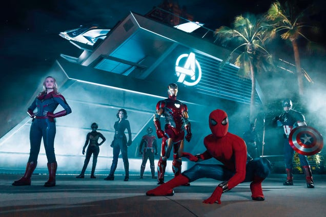 Disney's Avengers Theme Park Is Nerdy in the Mighty Marvel Manner