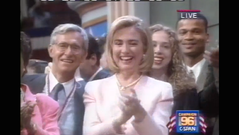 Illustration for article titled It's the 20th Anniversary of the Macarena-Themed DNC, and These Videos Have Broken Me