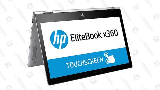 HP s Reversible Touchscreen Windows 10 Elitebook Is Down to $480 Today Only