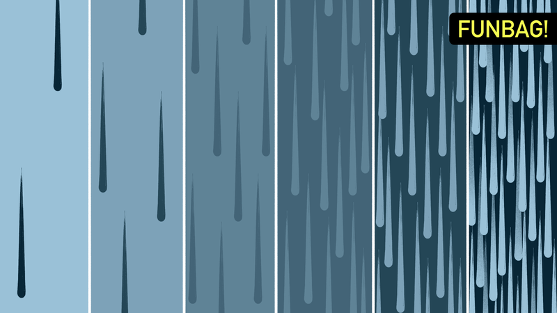 Illustration for article titled What Are The Degrees Of Raining?