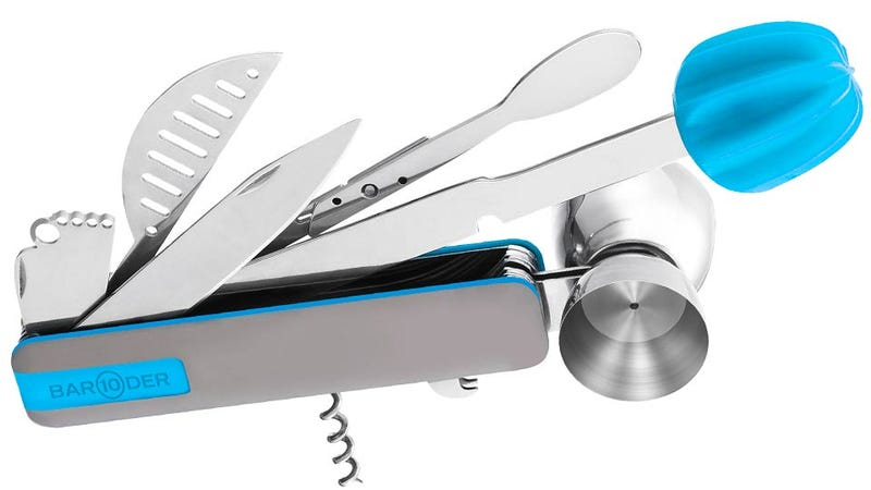 Illustration for article titled A Multitool Designed For Any Bartending Emergency