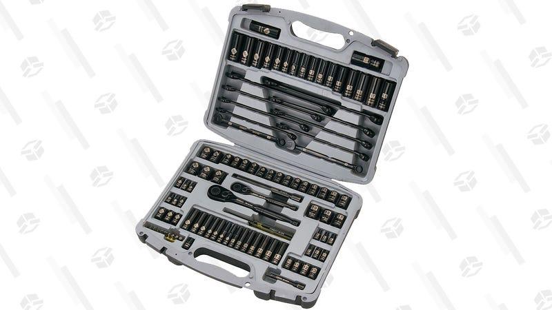 Stanley 99-Piece Mechanics Tool Set | $45 With Promo Code STANLEY10 | Walmart