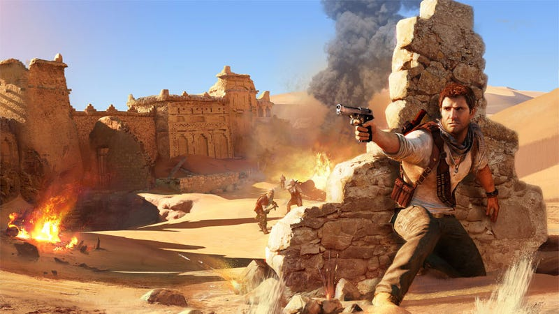 Illustration for article titled Uncharted 3's Guns Aren't Broken, They're Different, Say Devs